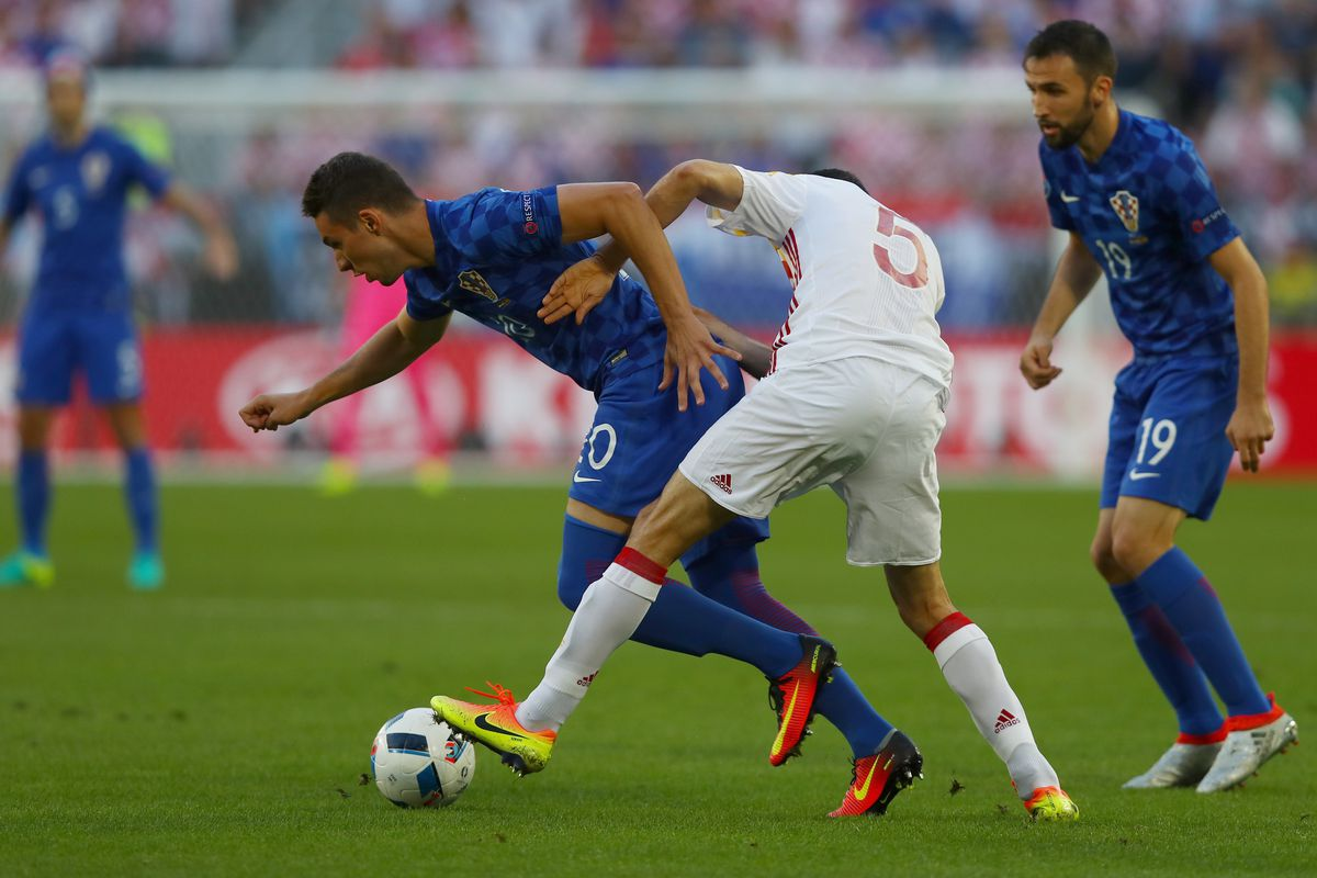 Pjaca has performed well for Croatia at Euro 2016