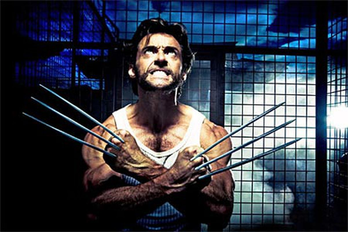 Harnish apparently has Wolverine-esque mutant healing powers.
