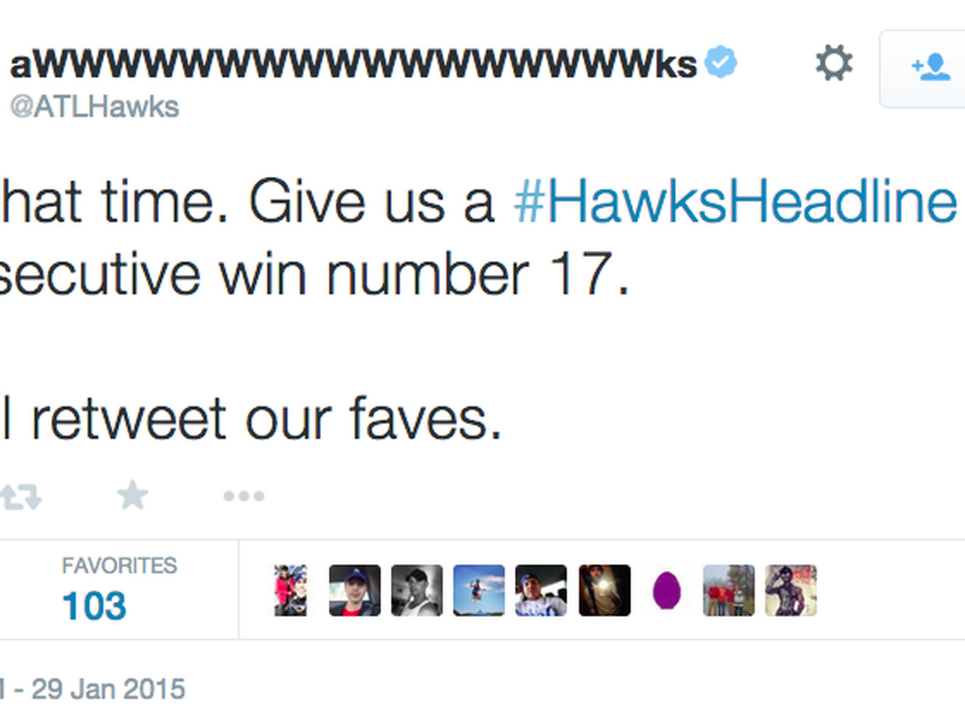 b1246caca82a8 The Hawks winning streak is too long for Twitter - SBNation.com