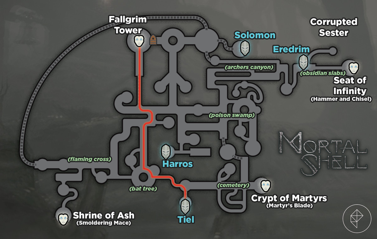 Mortal Shell Tiel, the Acolyte shell location