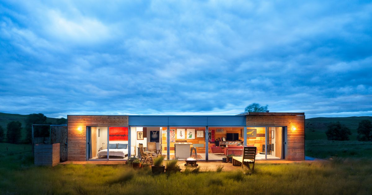 Handcrafted shipping container home asks 125k curbed - Container homes in los angeles ...