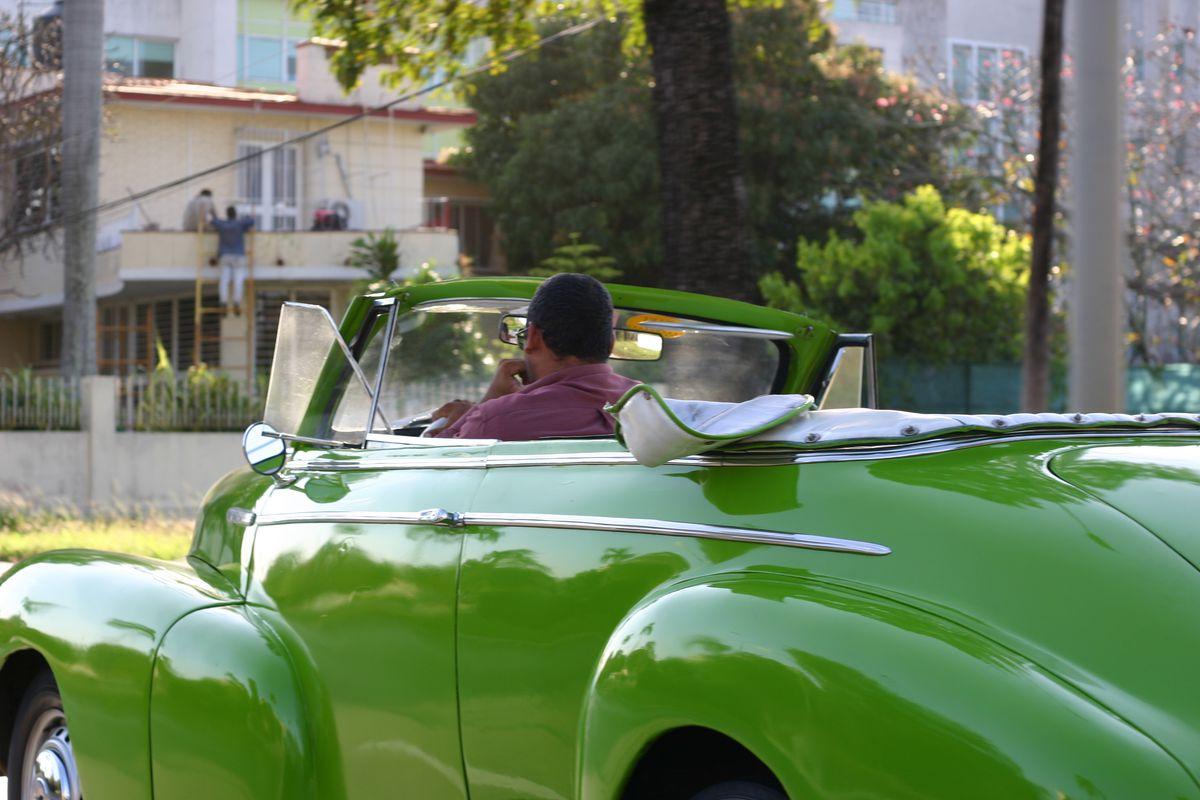 One of the many beautiful cars of Havana