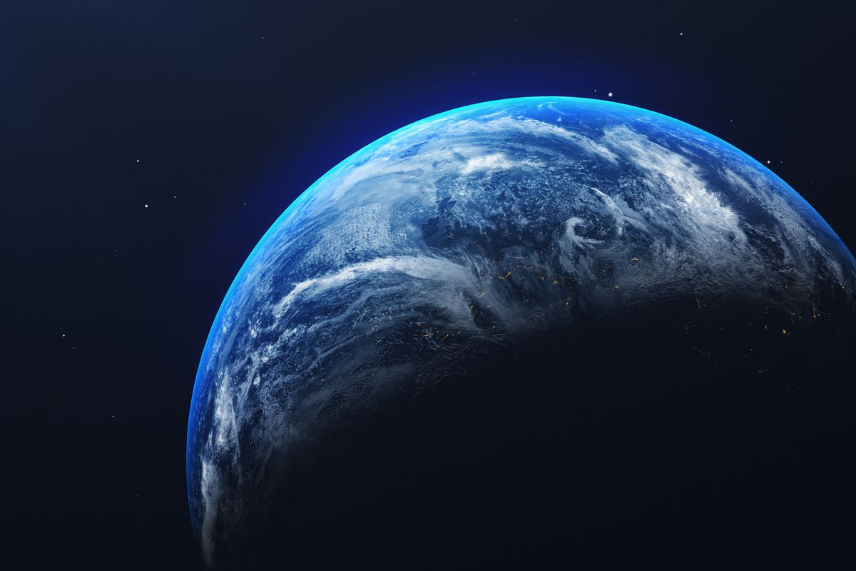 Earth, as seen from space.