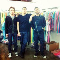 Three fourths of the Cotton Citizen team (L-R): Daniel Rosen, Andrew Nah, and Adam Vanunu.