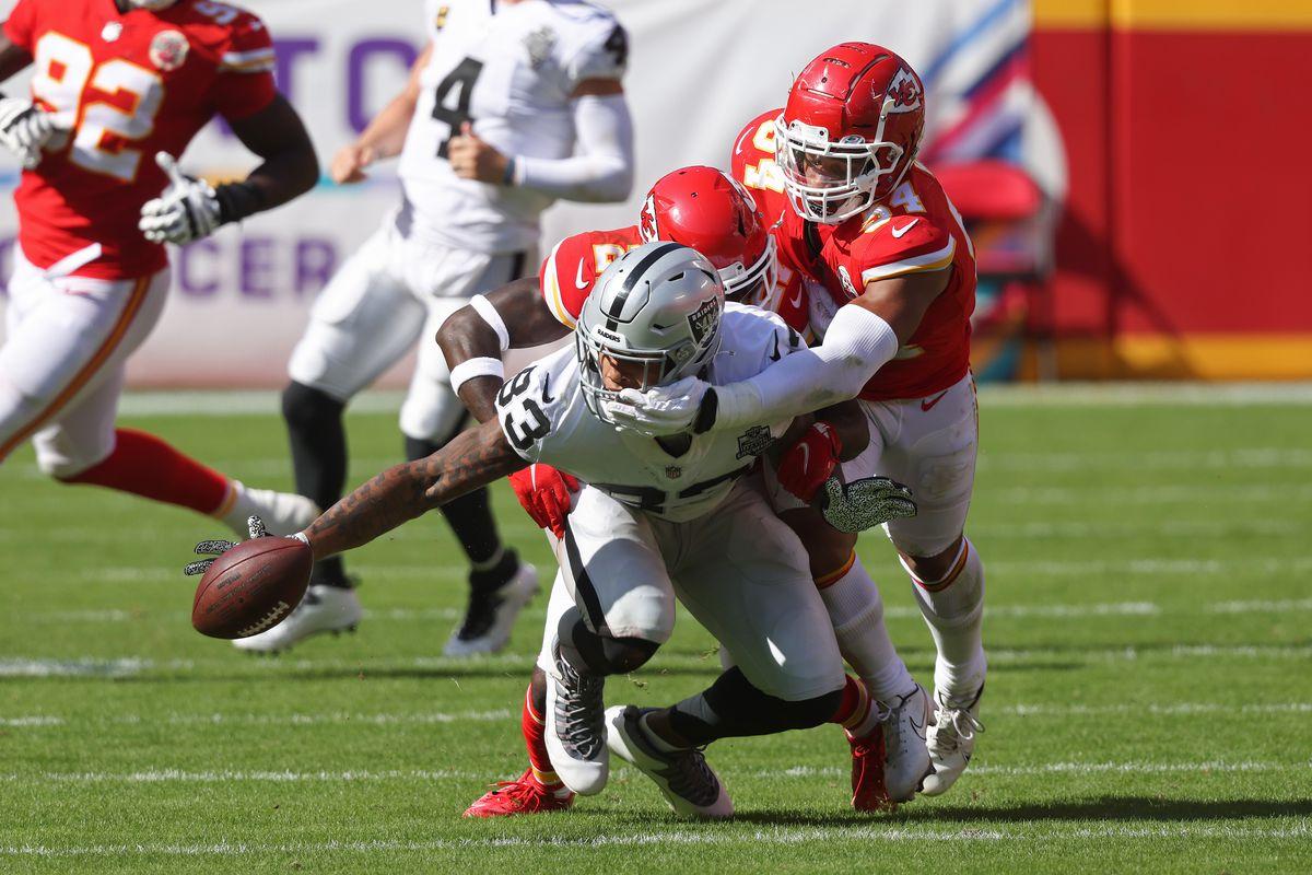 Las Vegas Raiders vs. Kansas City Chiefs