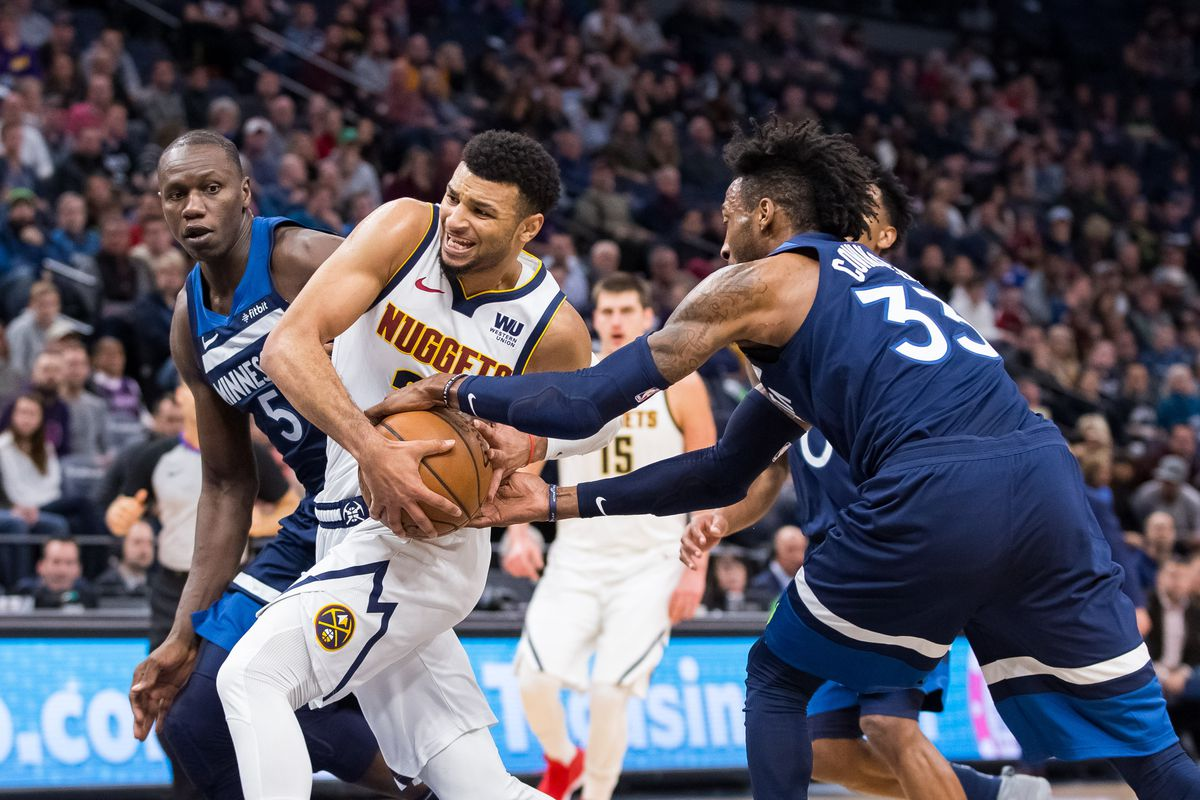 Nuggets stop the bleeding with a 103-101 win over the Timberwolves in  Minnesota - Denver Stiffs