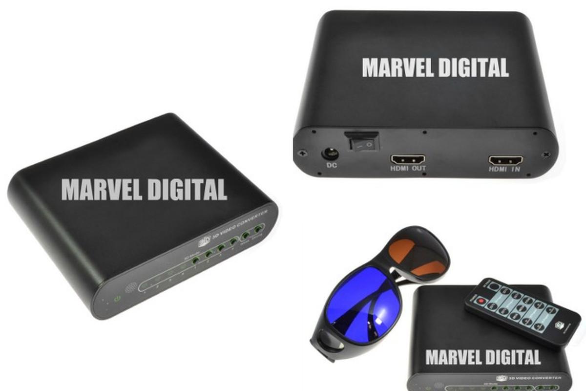 Marvel Digital 3D Converter