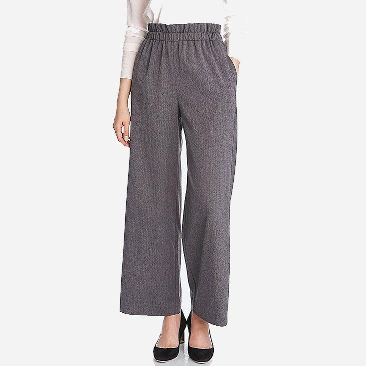 High-Waist Wide-Leg Pant