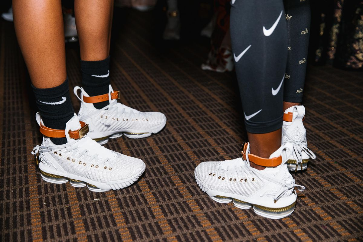 The HFR x LeBron 16 shoe was designed for women by women. Here s how ... 086e19679e