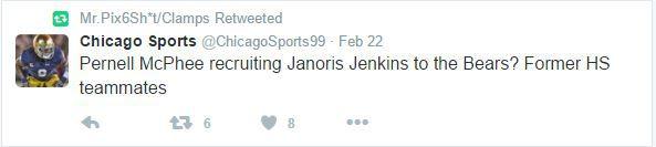 Janoris Jenkins Chicago recruiting RT