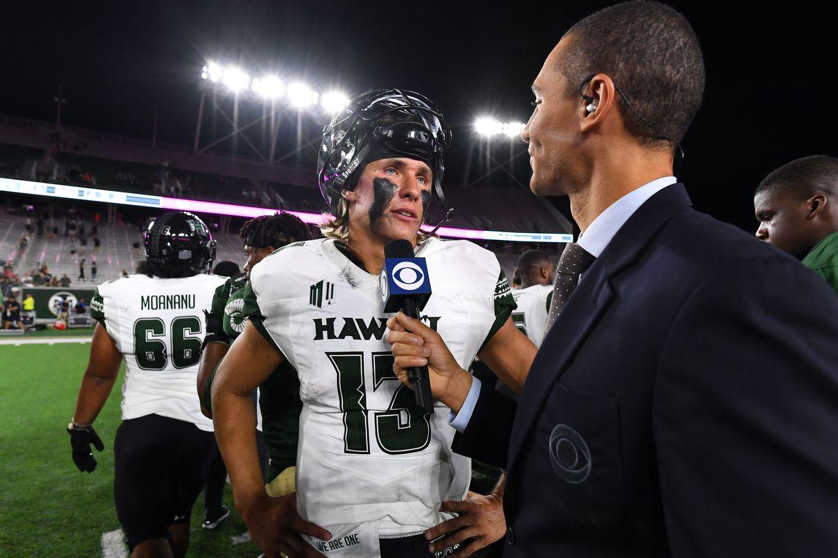 NCAA Football: Hawaii at Colorado State