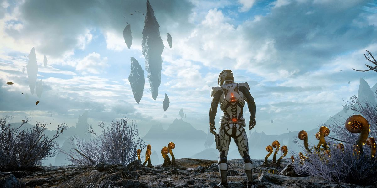 Mass Effect: Andromeda is a thrilling sci-fi drama stuck to a boring