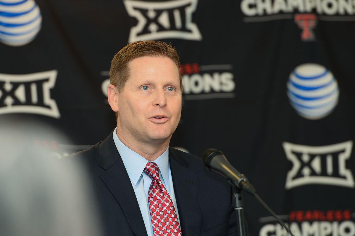 Texas Tech Athletic Director Kirby Hocutt - News Conference