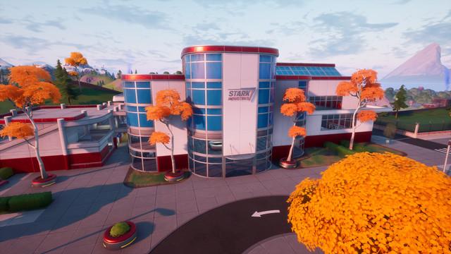 Stark Industries inside of Fortnite