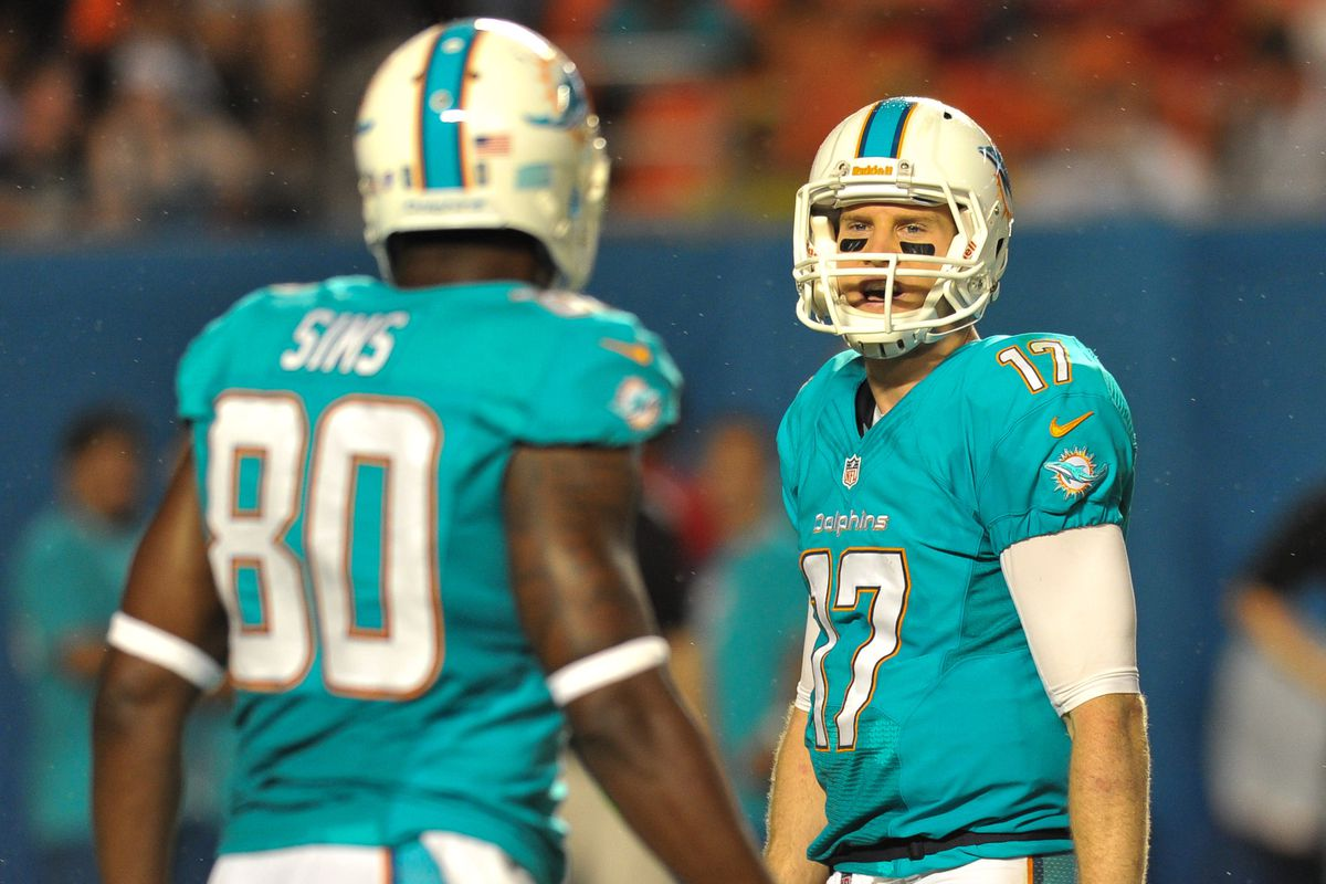 The team should be looking for some help for Tannehill at tight end