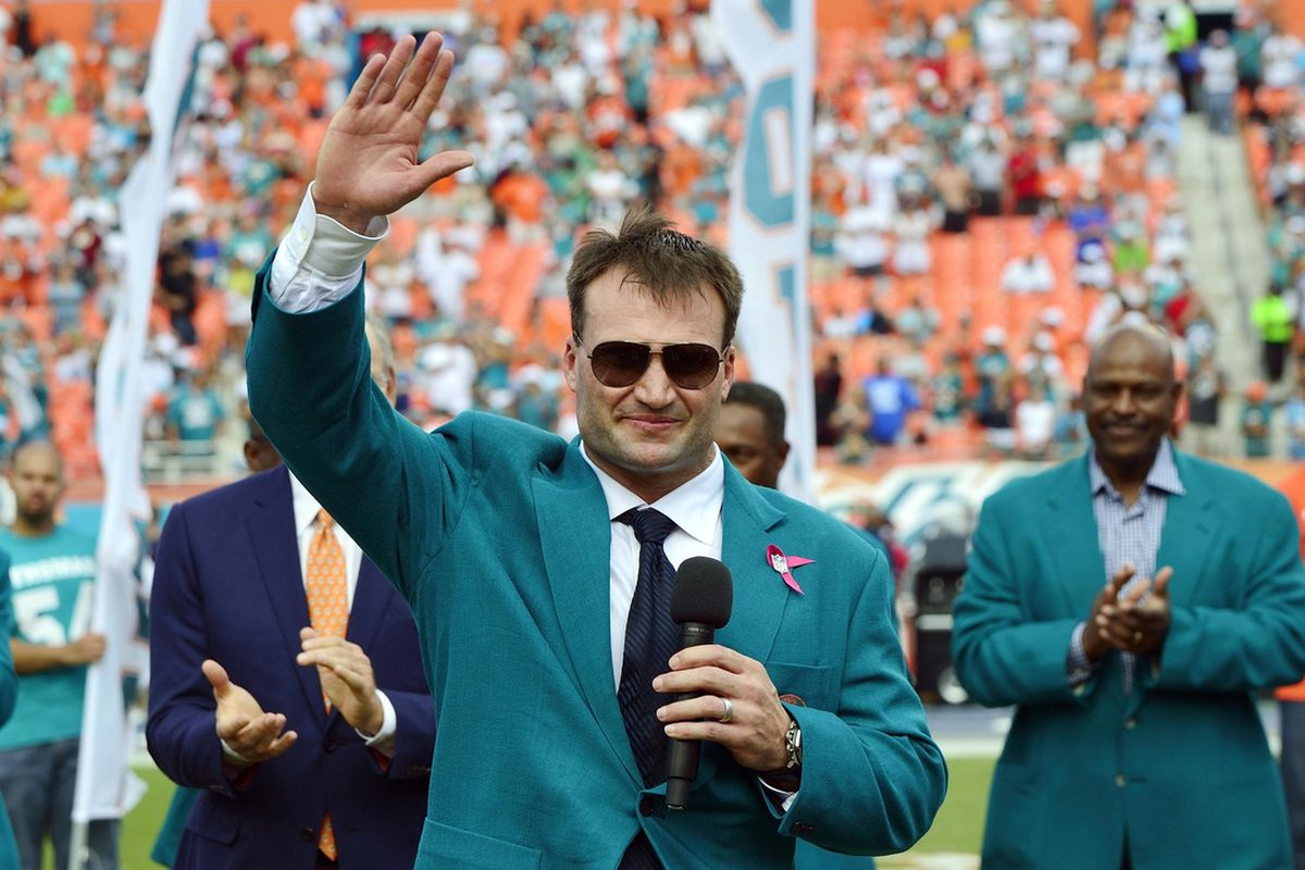 Miami Dolphins Ring of Honor member Zach Thomas is one of 126 finalists for the Pro Football Hall of Fame Class of 2014.