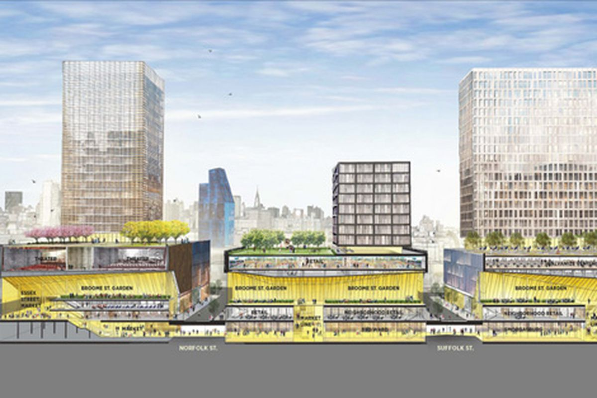 """Broome Street. Renderings via <a href=""""http://www.flickr.com/photos/nycmayorsoffice"""">nycmayorsoffice</a>/Flickr."""