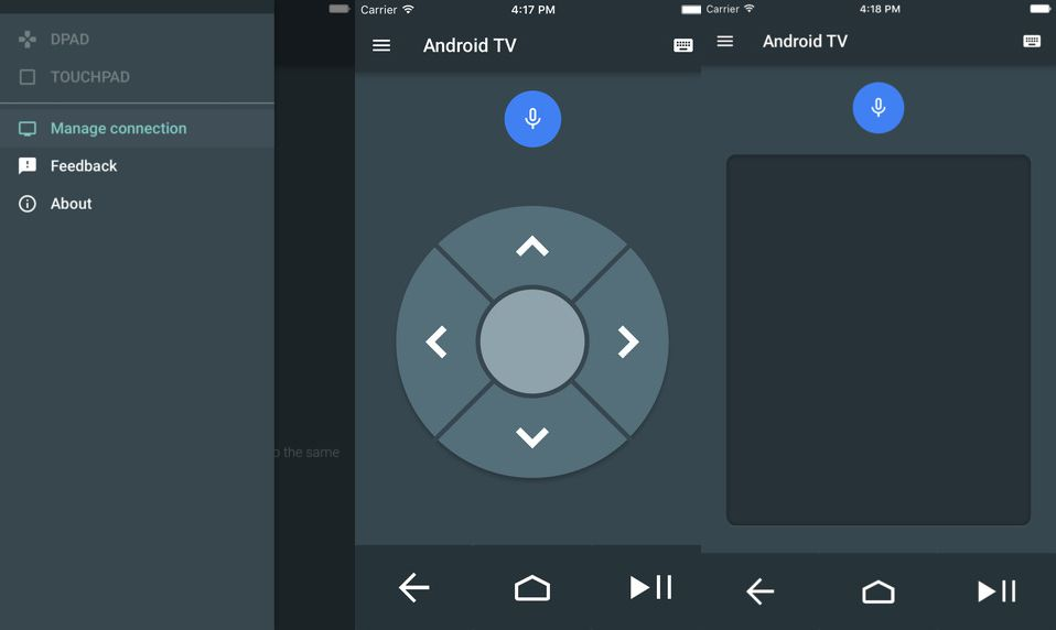 Google releases an Android TV remote for iOS - The Verge