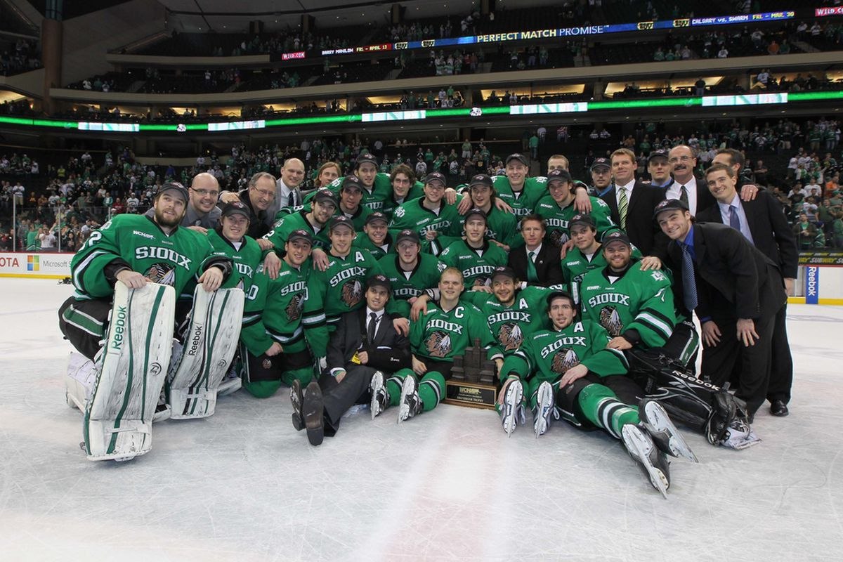 UND has won three straight Broadmoor trophies