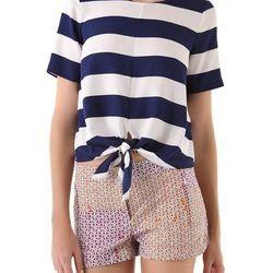"<a href=""http://www.shopbop.com/stripe-tie-top-tibi/vp/v=1/845524441941477.htm?folderID=2534374302029428&fm=whatsnew-shopbysize&colorId=41838"">Tibi striped tye top</a>, $275"