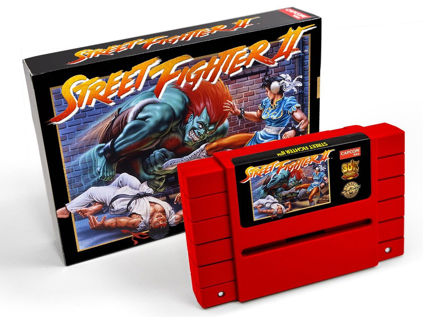Capcom Re Releases Street Fighter Ii On 100 Cartridge That Might Set Your Snes On Fire The Verge