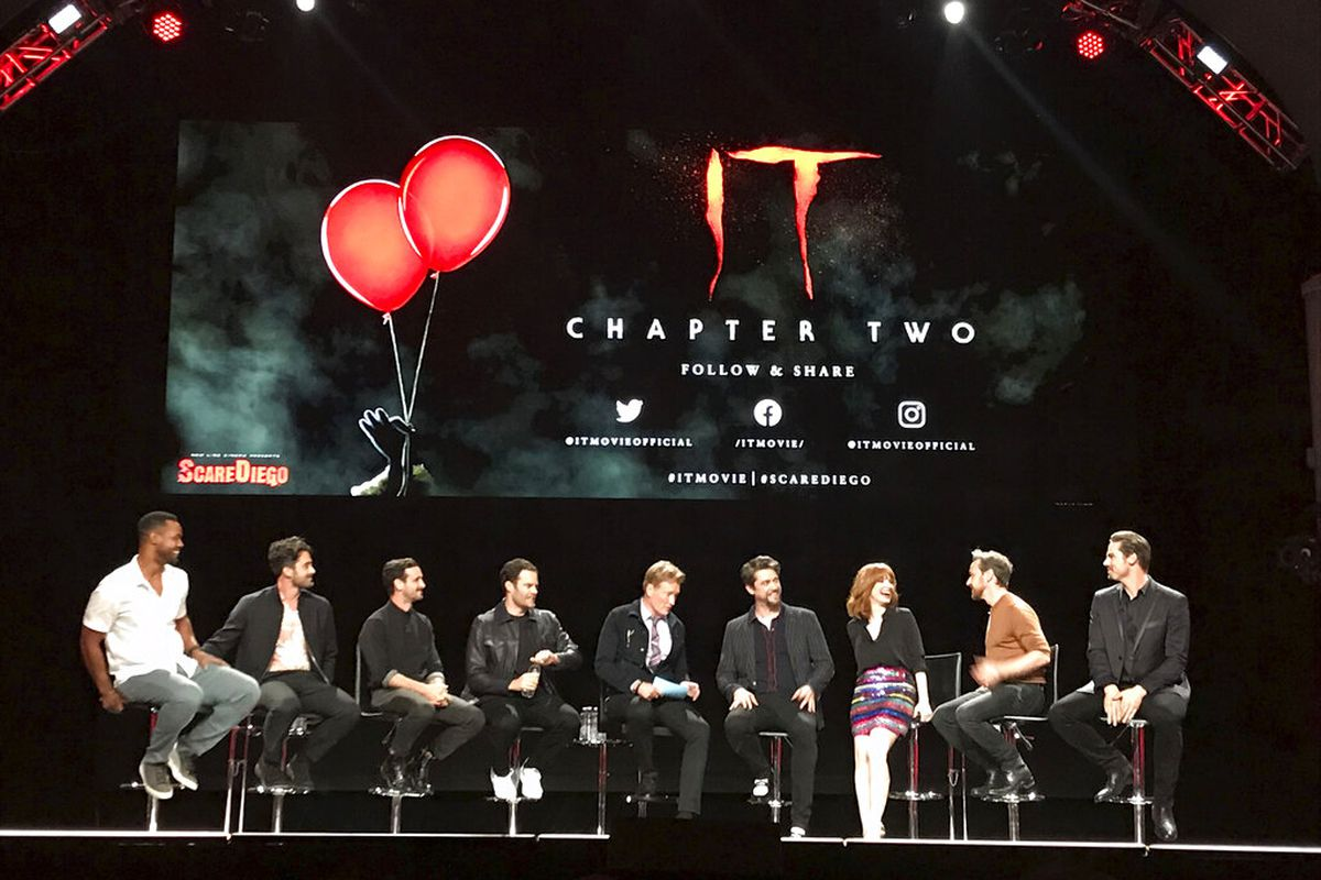 Comic-Con: Cast of 'IT: Chapter 2' shares filming experiences at panel