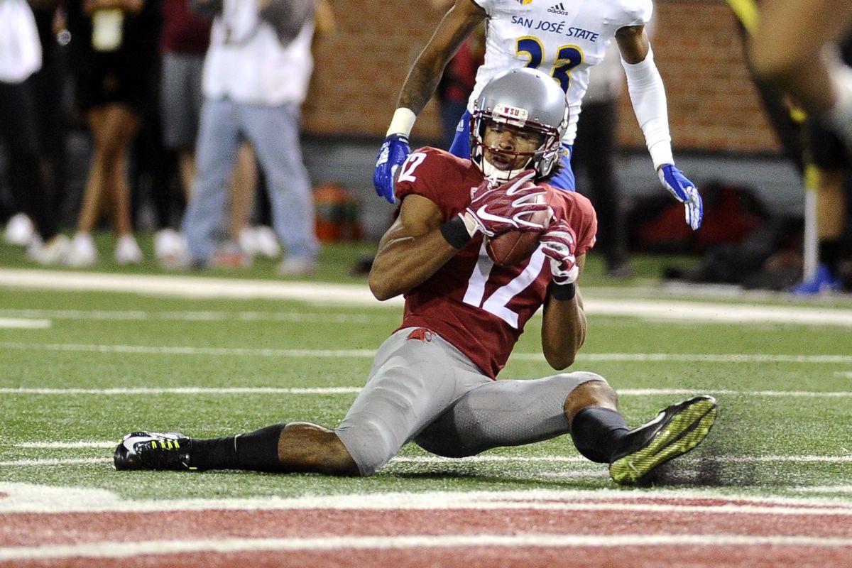 NCAA Football: San Jose State at Washington State
