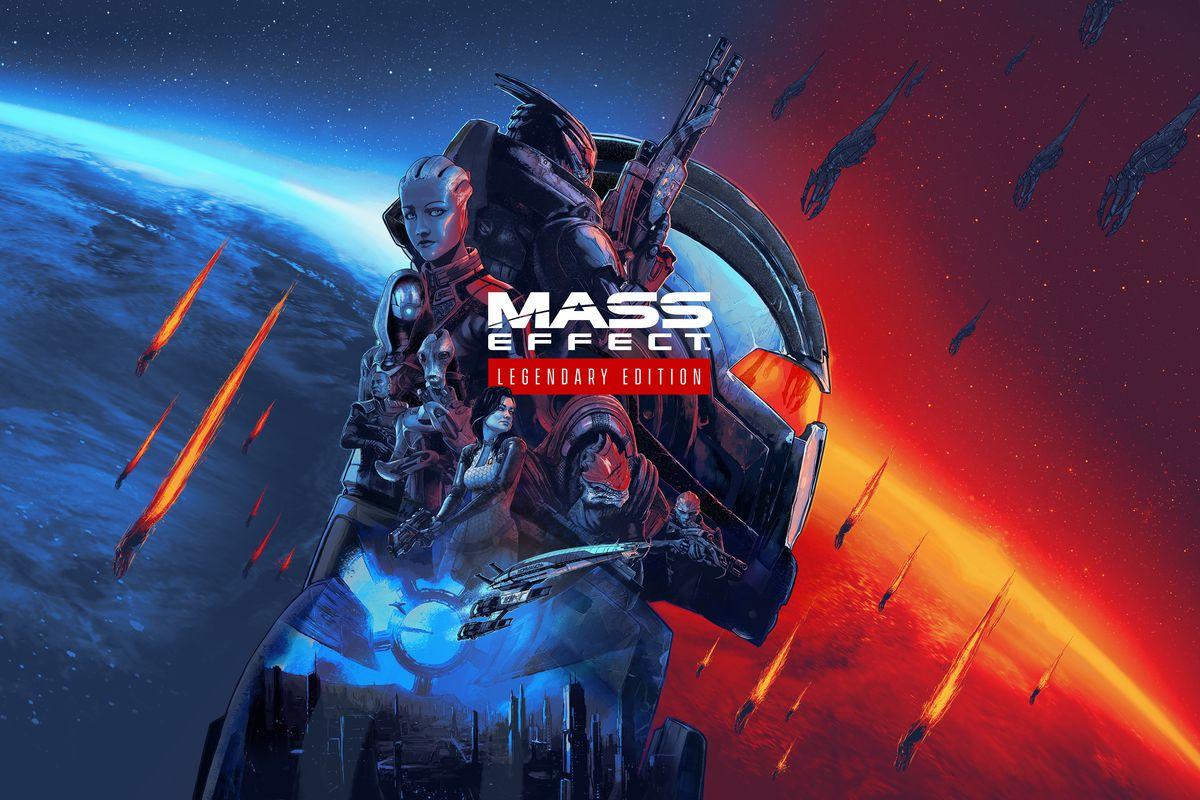 Artwork for the Mass Effect Legendary Edition
