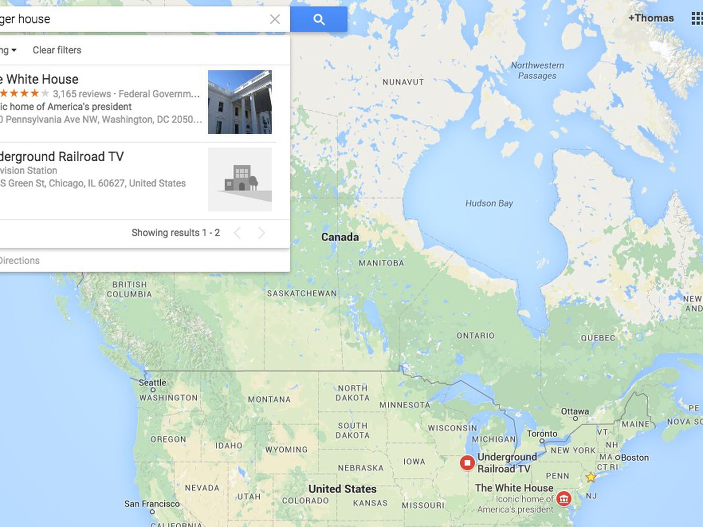Racist searches in google maps send users to the white house the verge gumiabroncs Gallery