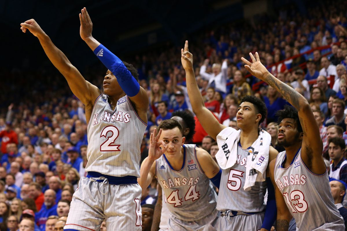 NCAA Basketball: South Dakota at Kansas