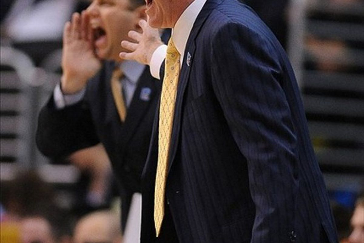 UCLA Bruins assistant coaches need not only to stand behind Coach Ben Howland but get in his ear sometimes.  Mandatory Credit: Jayne Kamin-Oncea-US PRESSWIRE