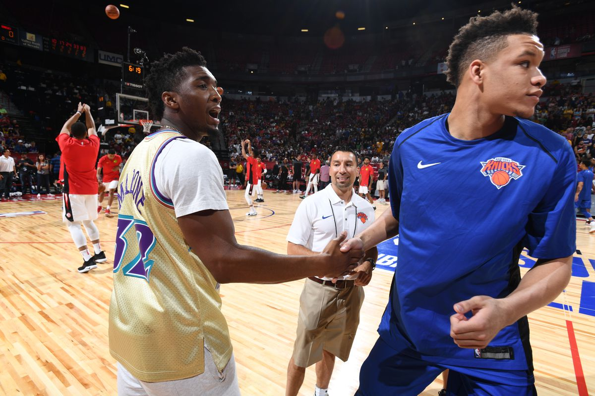 2018 NBA Summer League - Las Vegas - New York Knicks v Atlanta Hawks