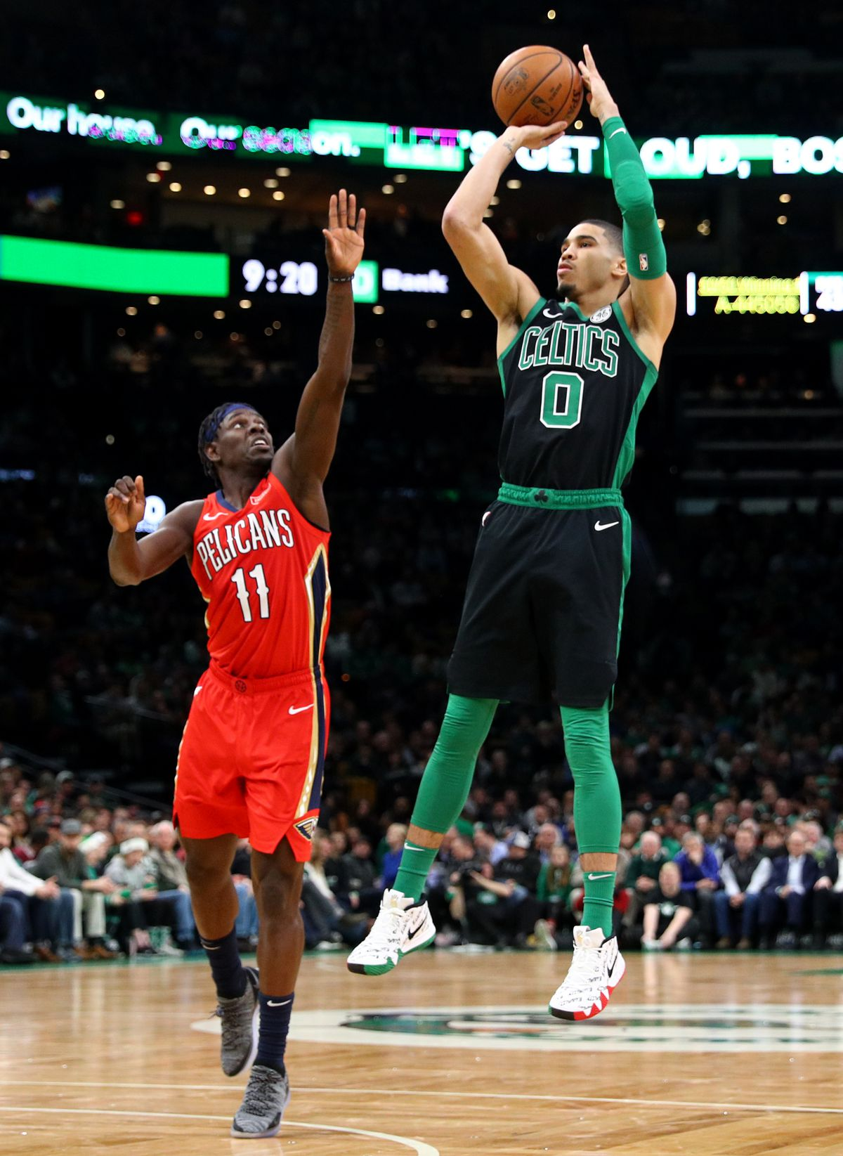 Jayson Tatum may fancy becoming face of New Orleans Pelicans and in one fell swoop cure city full of hopeless romantics