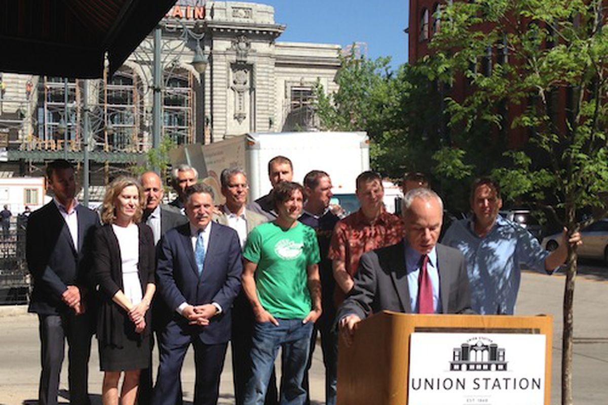 Union Station Development Press Conference