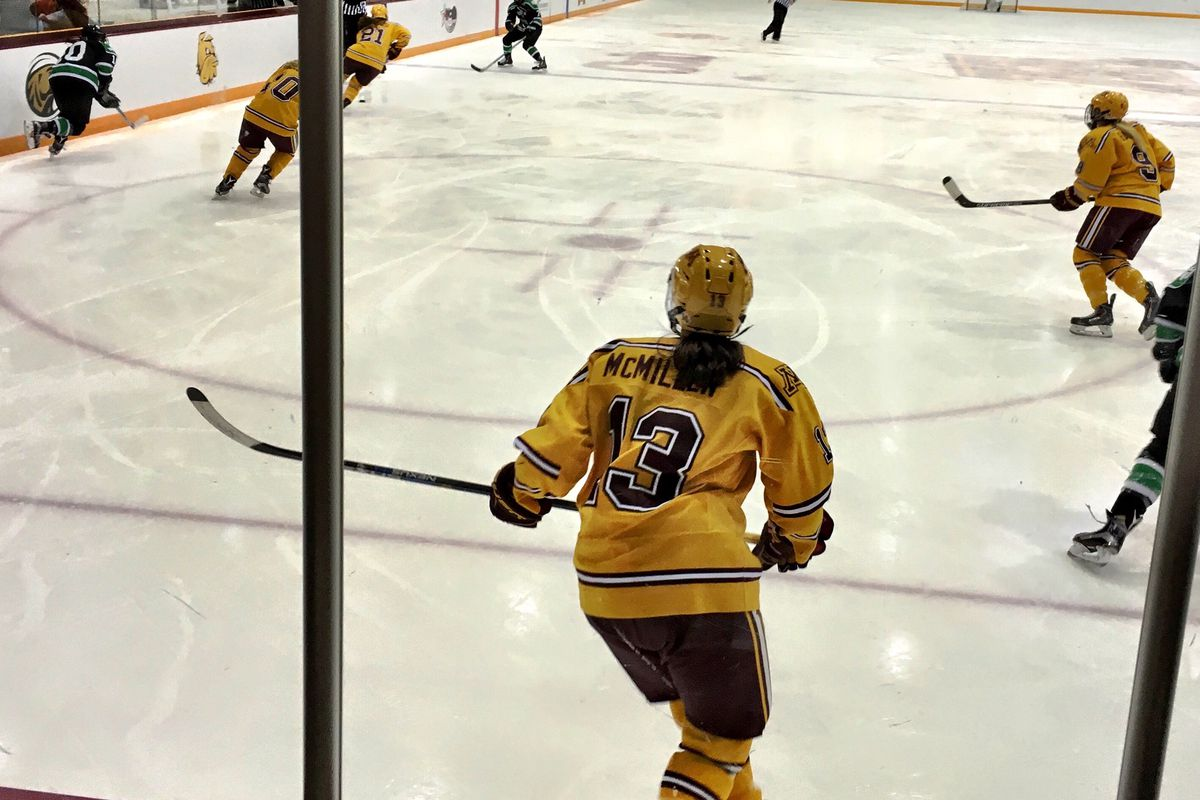 Milica McMillen will continue to play hockey with the NWHL.