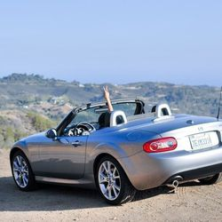 """""""On a sunny LA morning, I hopped in my Miata convertible courtesy of Mazda and zoom-zoomed on my nine-day 'Spread Joy' road trip. Look out, world!"""""""