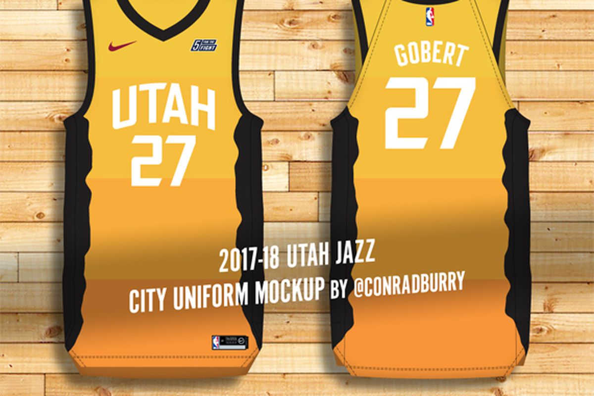 First Look  Utah Jazz Nike City Uniforms - SLC Dunk 44a9b82cb