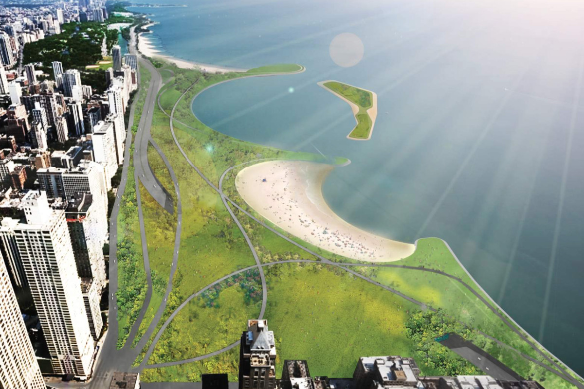 A Look At The Ambitious Plan To Bury Chicago S Lake Shore