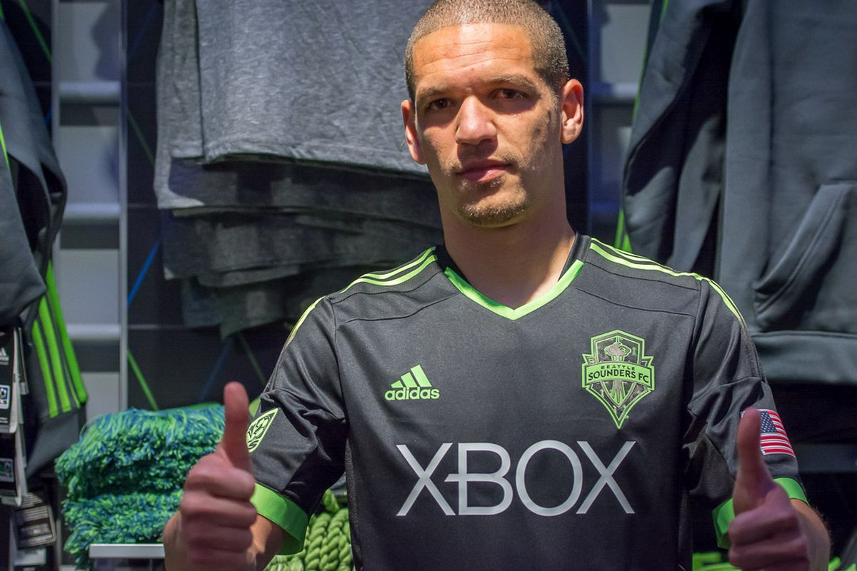 Gallery Photo: Sounders Third Kit: Pitch Black
