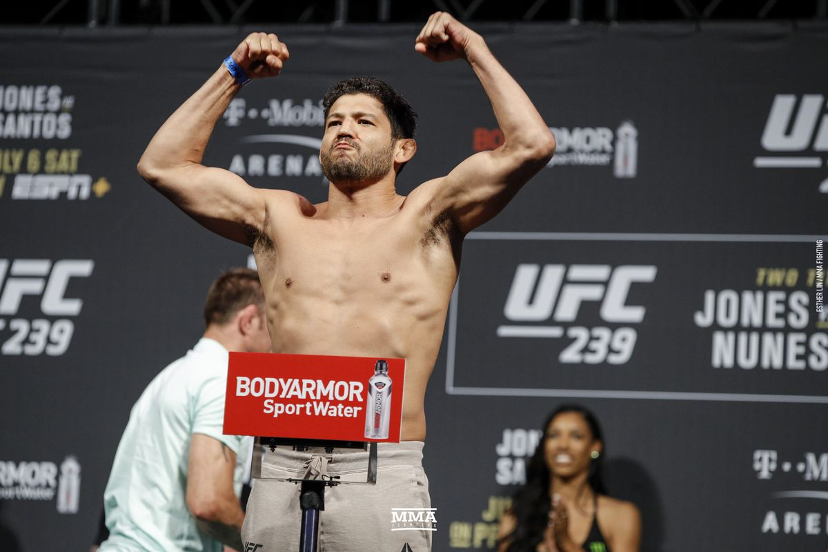 Former two-time title contender Gilbert Melendez released from the UFC