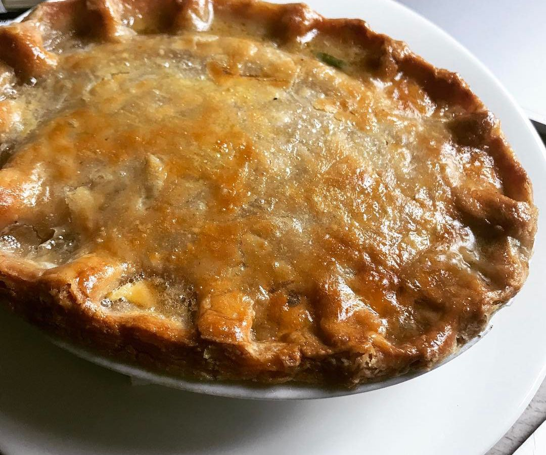 Pie at The Drapers Arms, one of the best restaurants in Islington