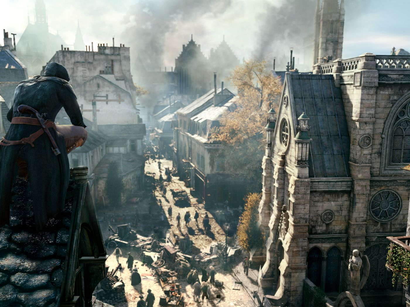 Building A Better Paris In Assassin S Creed Unity The Verge