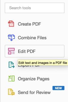 Edit pdf text in adobe acrobat pro