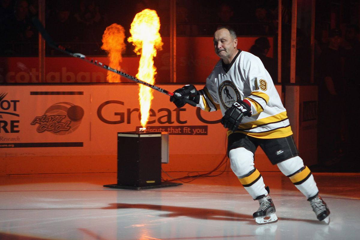 Fake sources: Trottier will get his own theme music and WWE-style entrance each night.