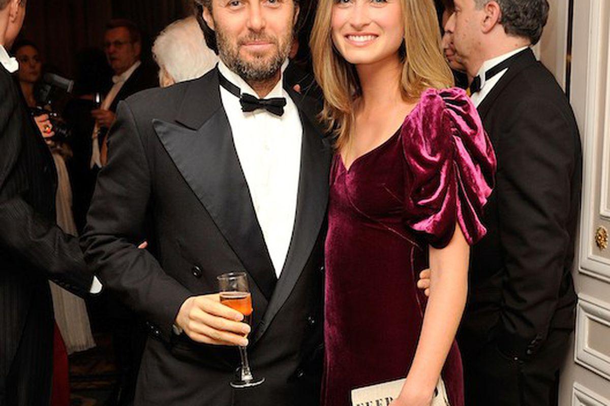 David Lauren with Lauren Bush
