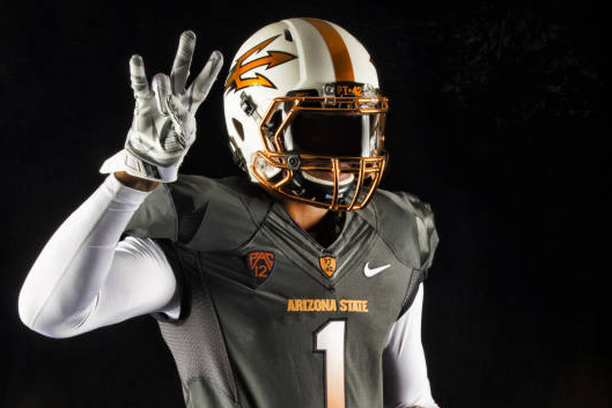 2b96c840e Arizona State added the color copper to the ever-expanding list of colors  used in their uniforms