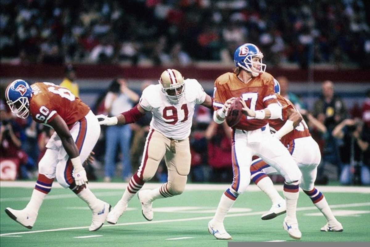 John Elway was one of the first athletes that Eric Sondheimer covered
