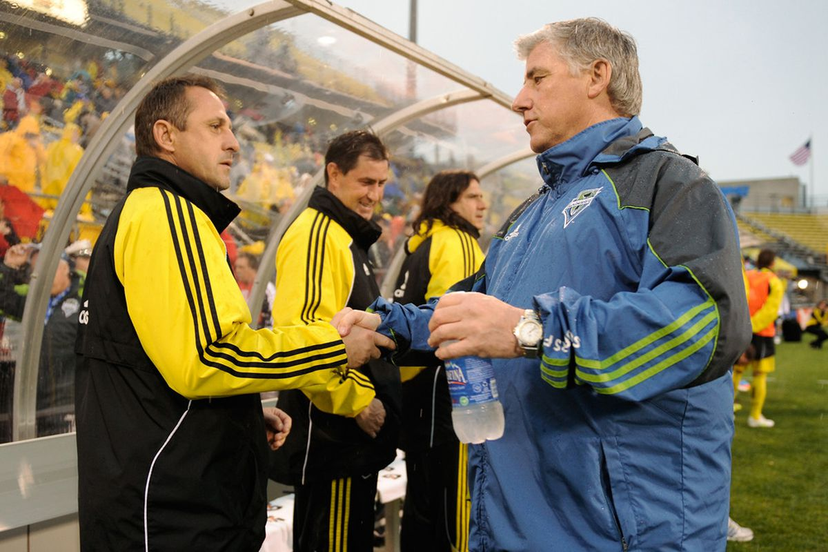 Warzycha was dismissed after 18 years of service to the Columbus Crew