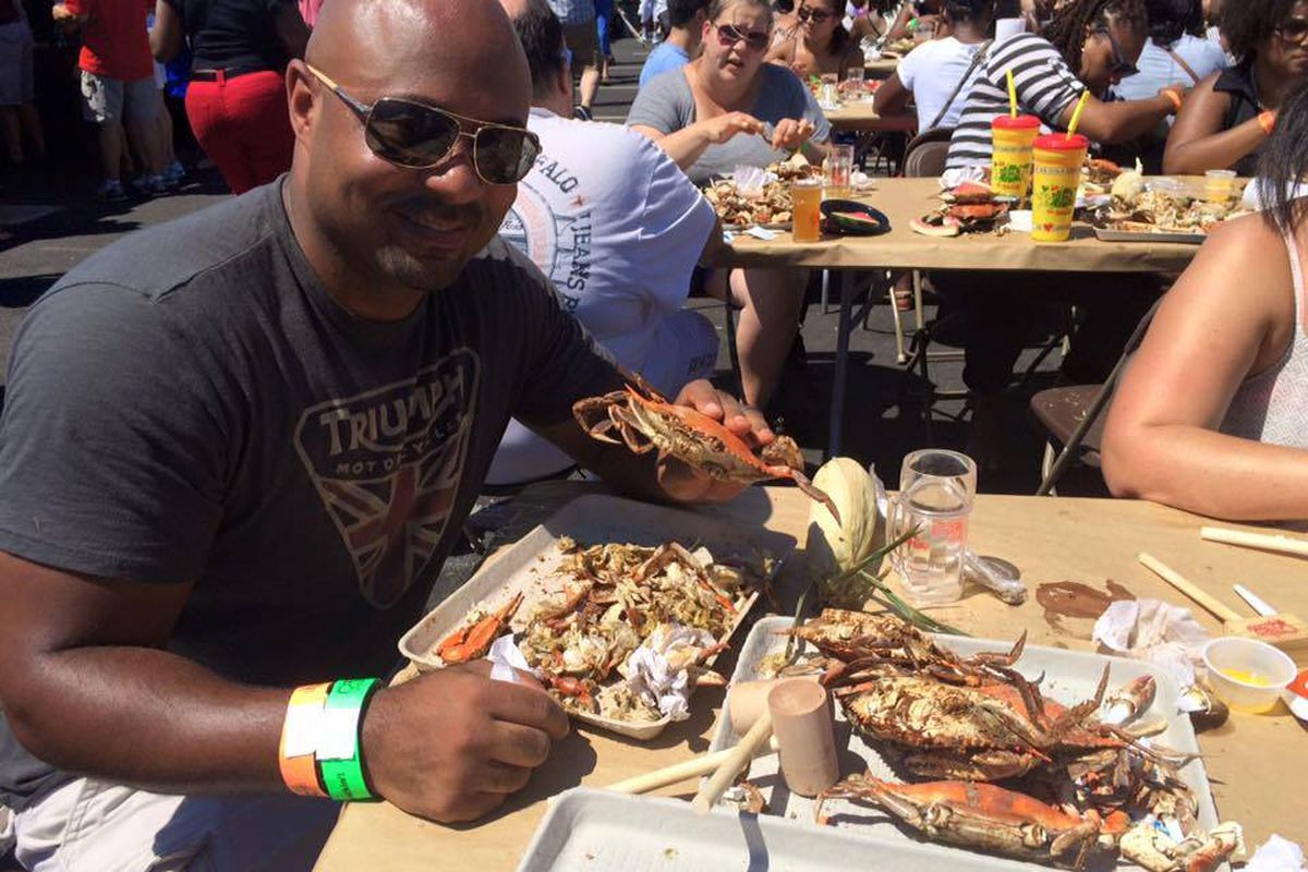 National Harbor's crab festival