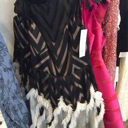 Full skirt dress, $595